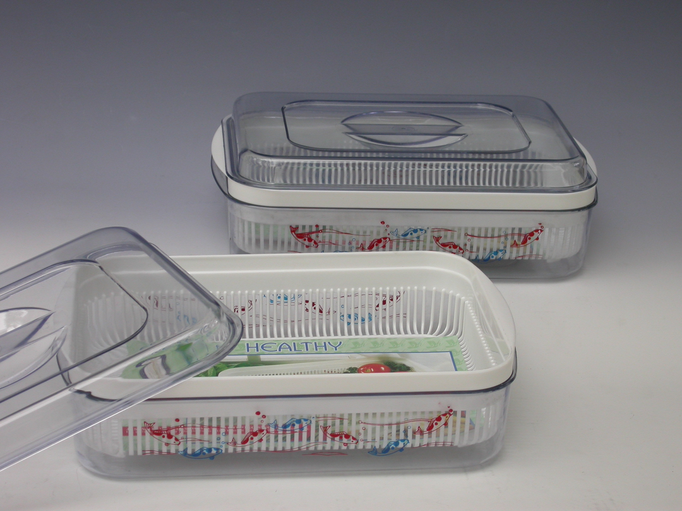 Eat Safe, Drink Safe Plastic Container