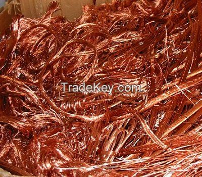 Premium Grade A Copper Cable Scrap.