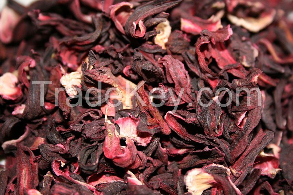 Hibiscus Flower   Roselle   Exporter