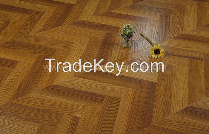 Fishbone Design Easy to clean Laminate Flooring