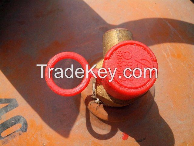 Plastic seals for LPG Cylinder valves 20mm, 21mm and 22mm