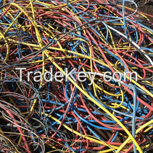COPPER CABLE (HOUSE CABLE), copper wire, OCC waste paper, aluminum foil