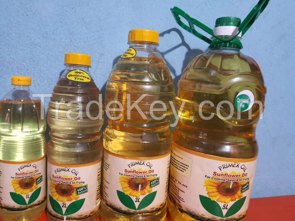 Refined Sunflower Oil Best Quality