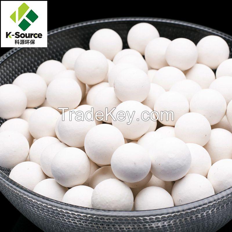 99% AL2O3 High Alumina Ceramic Ball Function As Catalyst Support Media