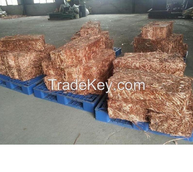 Copper Wire Scrap 99.99% For sale - Best Price