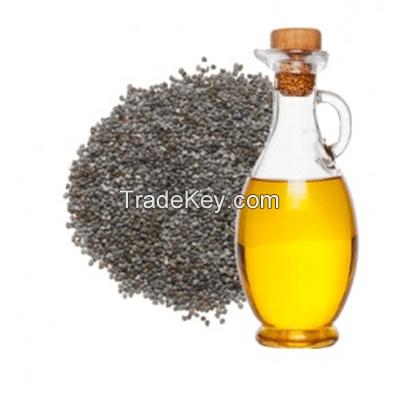 Natural and High Quality Poppy Seed Oil / Poppyseed Oil / Poppy Oil (Khus Khus Oil)