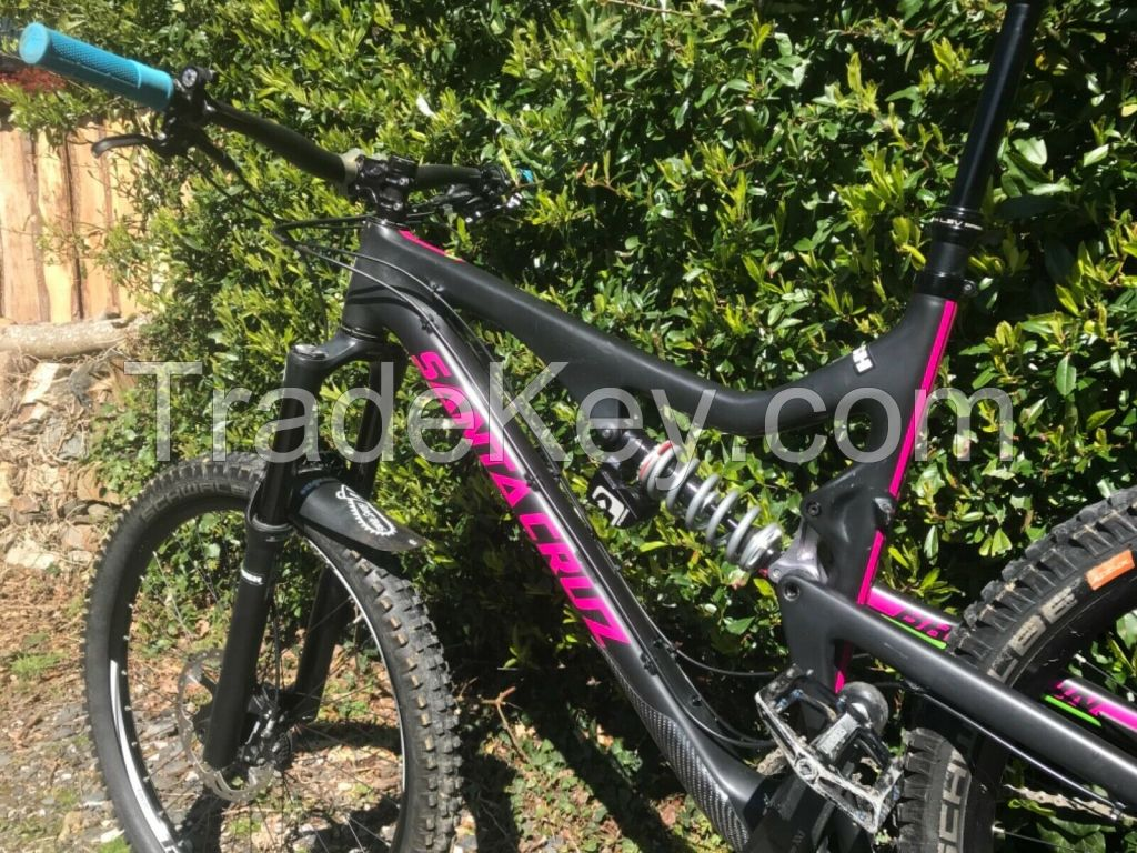 S. C. E Mountain Bike with  Full Suspension Dual Batteries