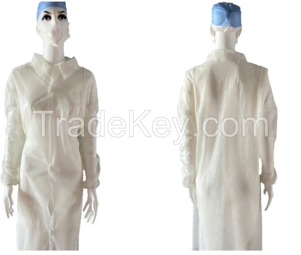 BY1030-Disposable Visitor Gown