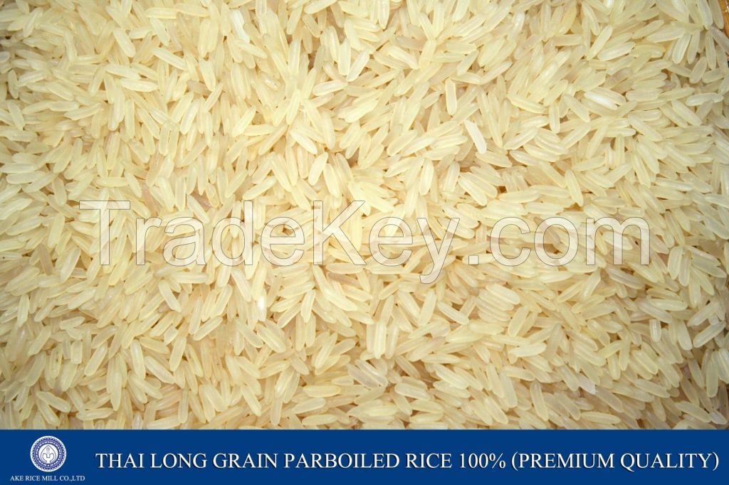 Parboiled Rice 100 %