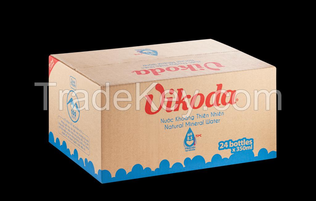 Vikoda Natural Alkaline Mineral Water PET 350 ml