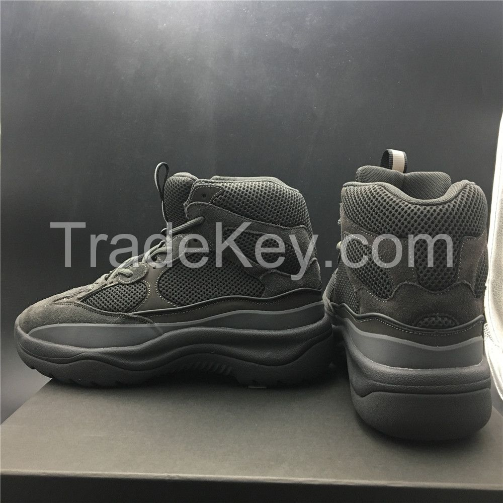 Suede mixture Rangers shoes