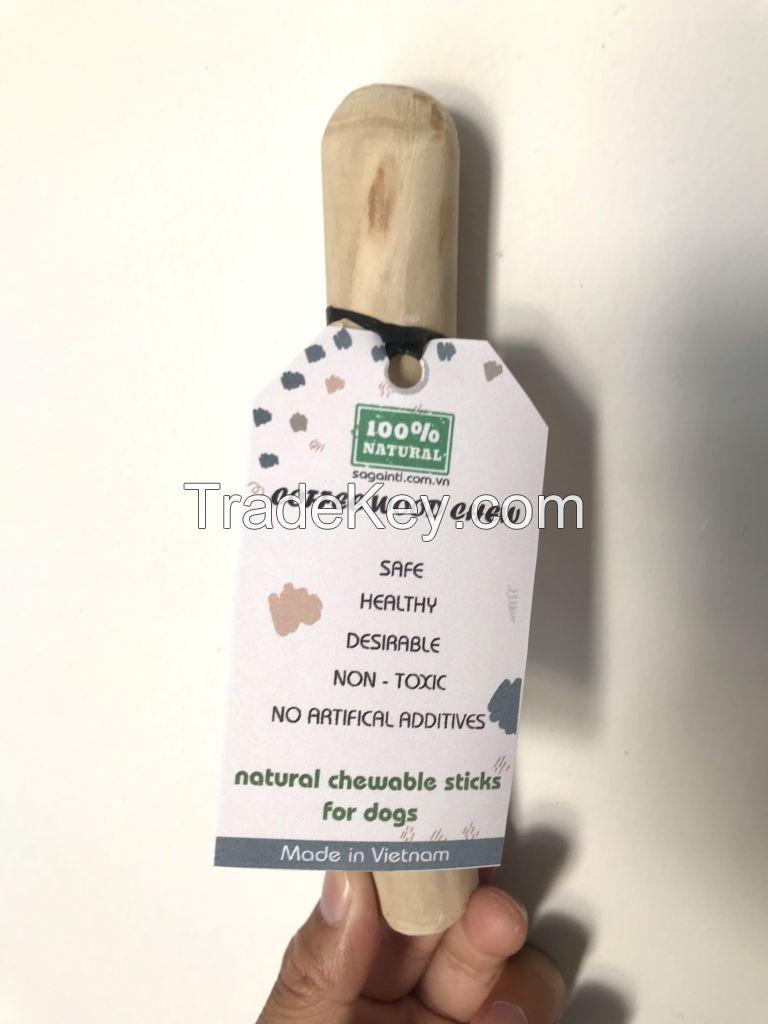 Coffee Wood Dog Chews