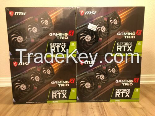 MSI GeForce RTX 3090 GAMING X TRIO 24GB GDDR6X Graphics Card