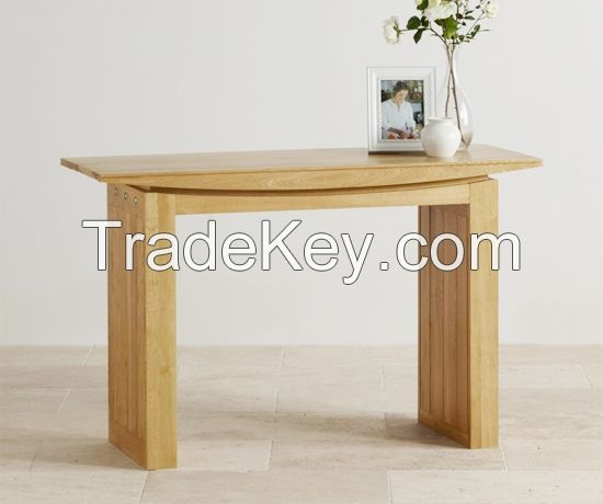 Living Room Coffee Table Solid Wood Oak Natural Color
