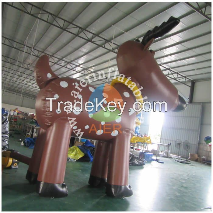 Grey inflatable house bouncer E284