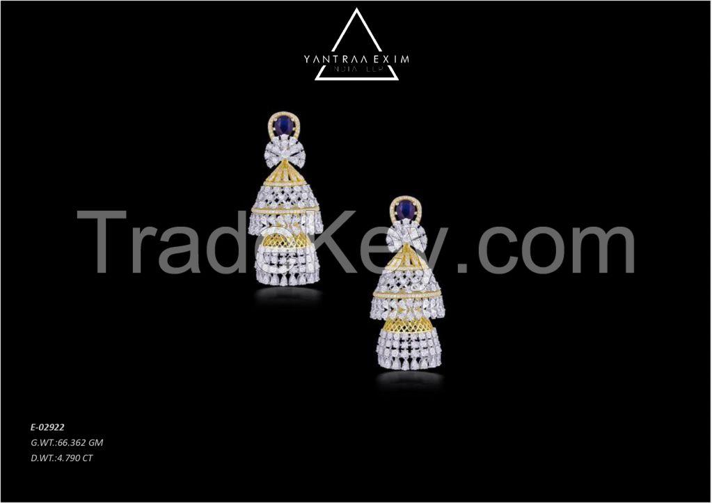 diamond earrrings
