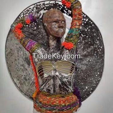 THE IDLE BEATIFUL OF AFRICAN WOMAN
