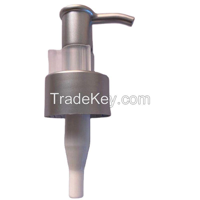 24/ 410 UV Lotion Pump with Clip Plastic Dispenser Pump For Bottle