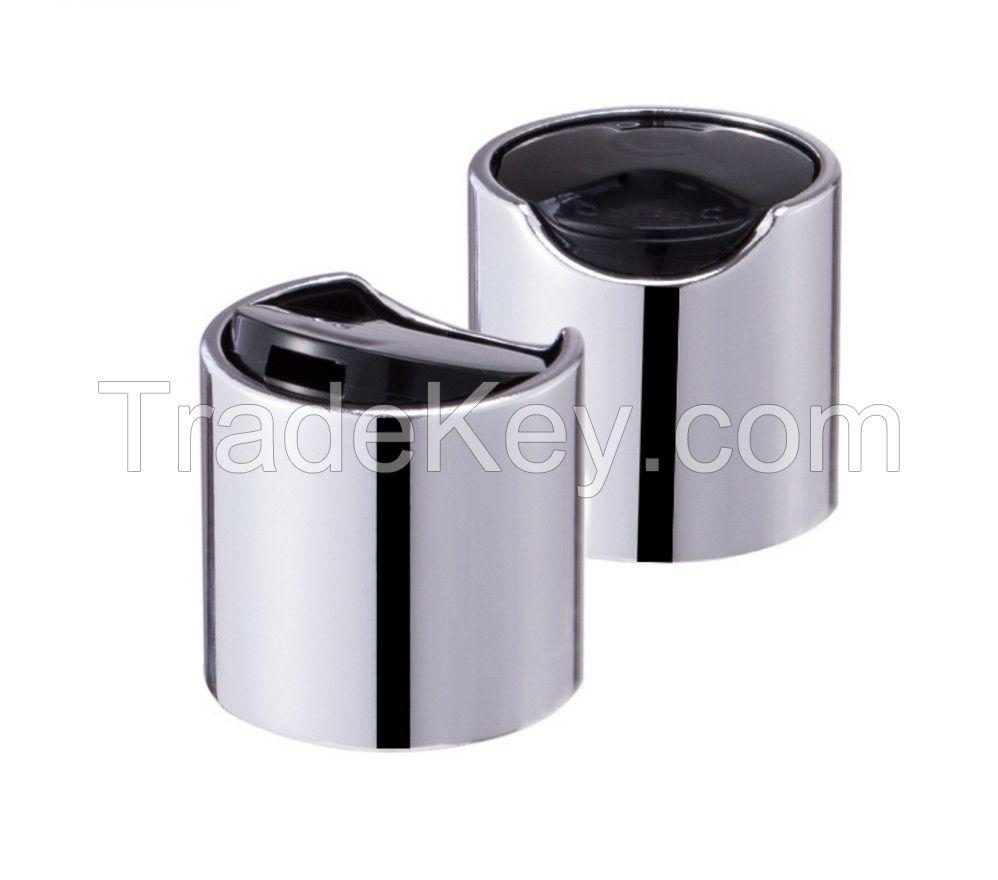 TOP CAP SCREW PP TYPE LEAK-PROOF CHILDPROOF PRESS AND SQUEEZE ALUMINUM WATER MIST CAP SHAMPOO BOTTLE