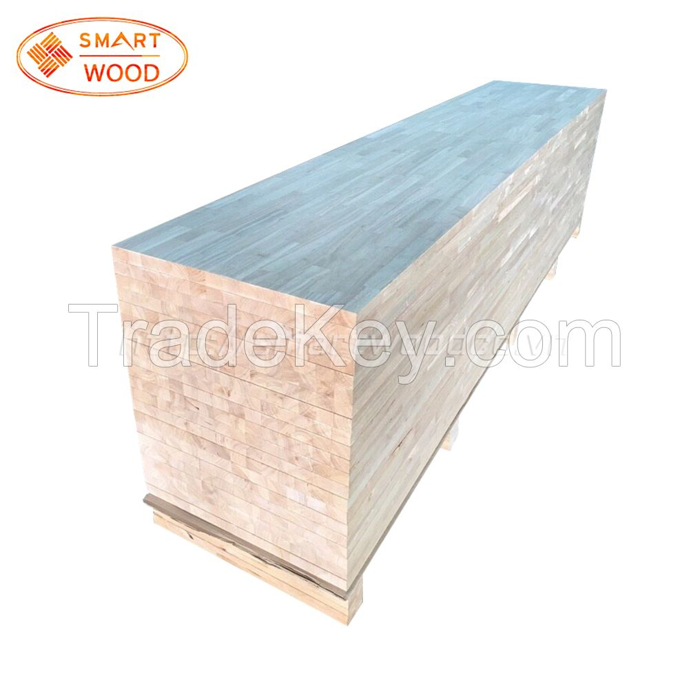Acacia / Rubber/ Wenge/ Sapele wood finger joint boards