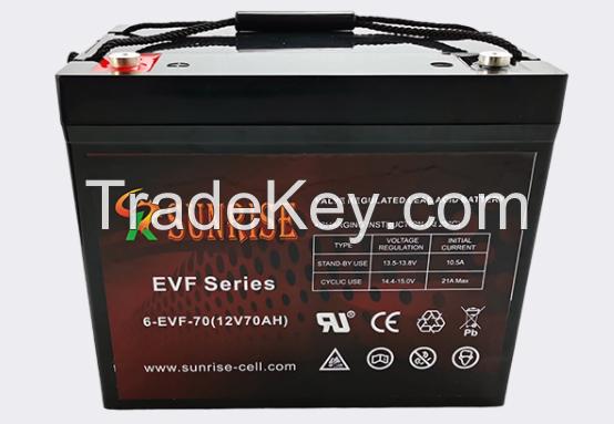 Sealed lead acid battery EVF Series