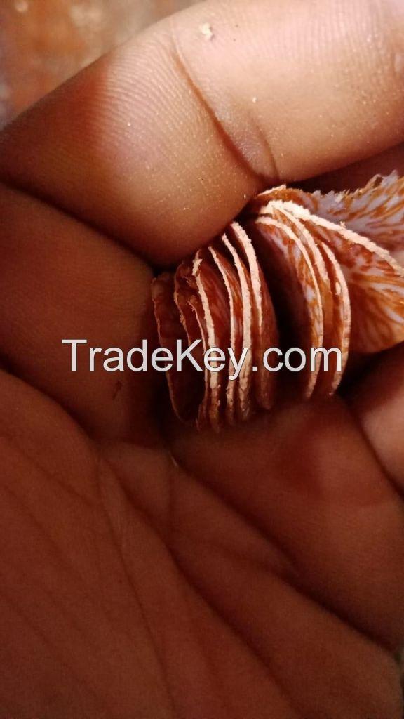 Betel nut sliced