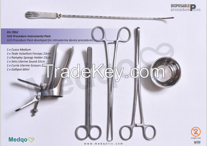 C Section and General Surgery Instruments
