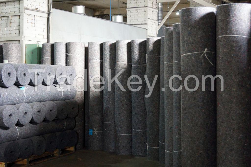 Furniture/mattress felt (calandered)