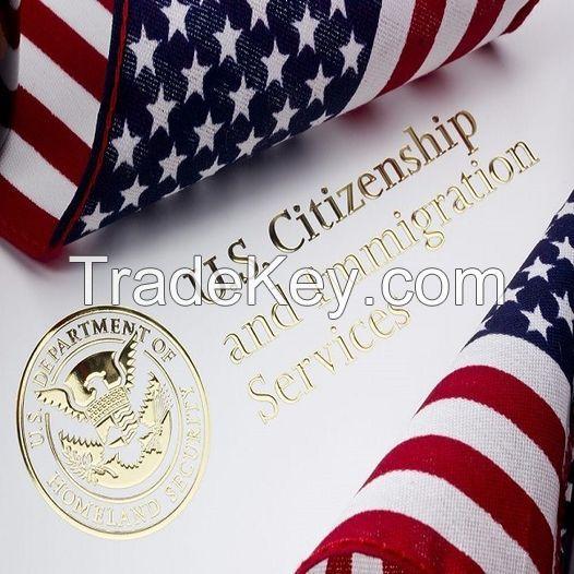 Visa United STATES - Immigrant Visa
