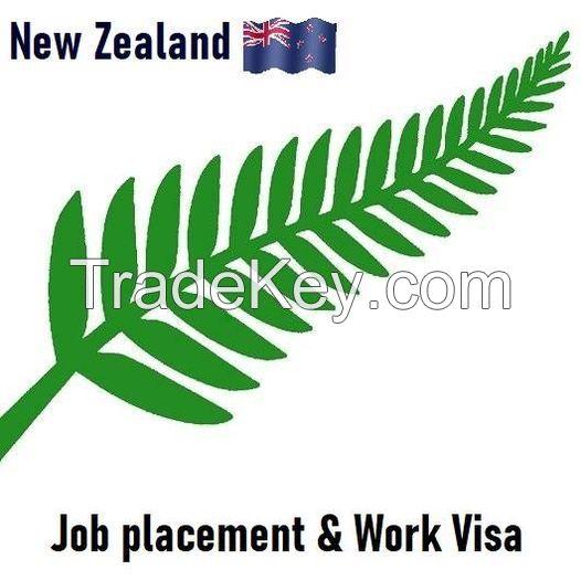 Visa New Zealand - work permit