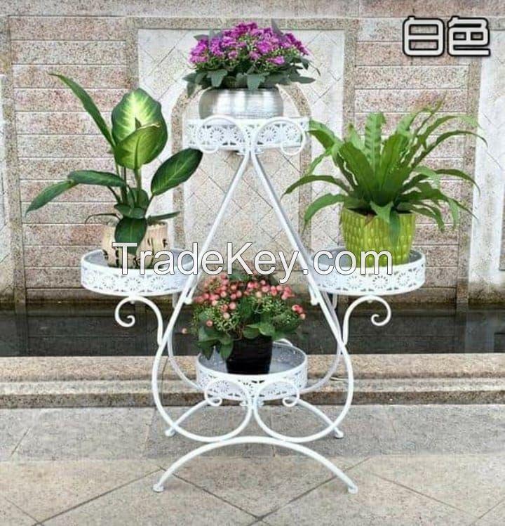 Flower Vase Metal Decoration