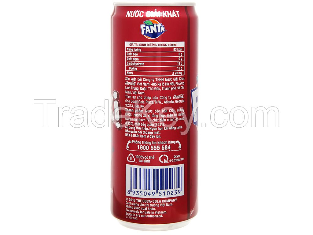 Fanta Sarsi 320ml/ Carbonated Drinks/ energy drinks