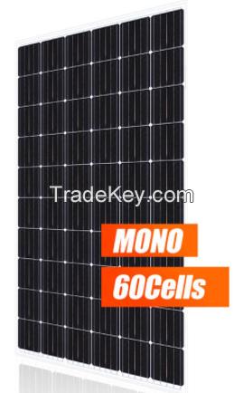 320W Mono 60cells Black solar panel