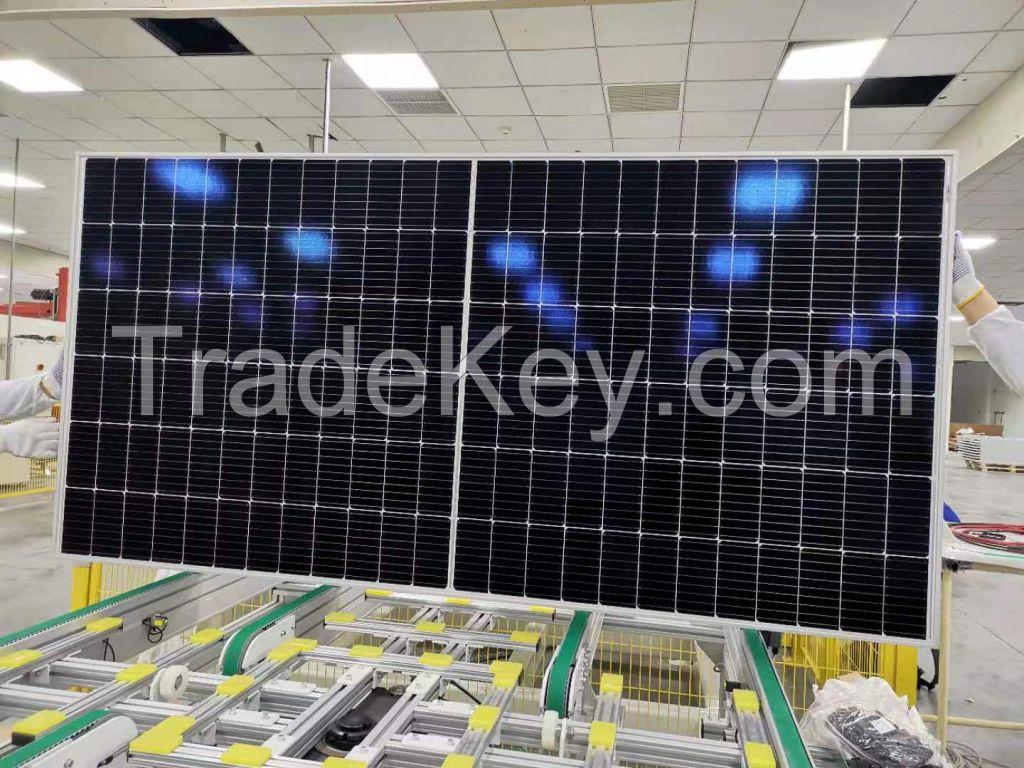485-505W-132 Half-Cell Layout Solar Panel