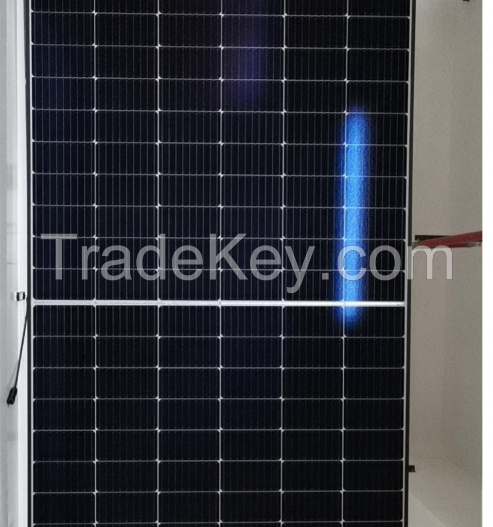 530-550W-144 Half-Cell Layout Solar Panel