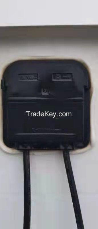 Used 250W polysilicon solar panel