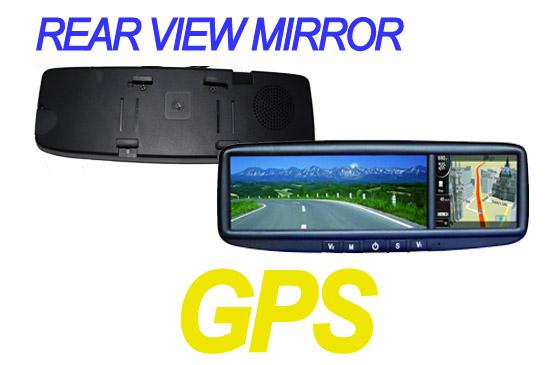rearview mirror gps