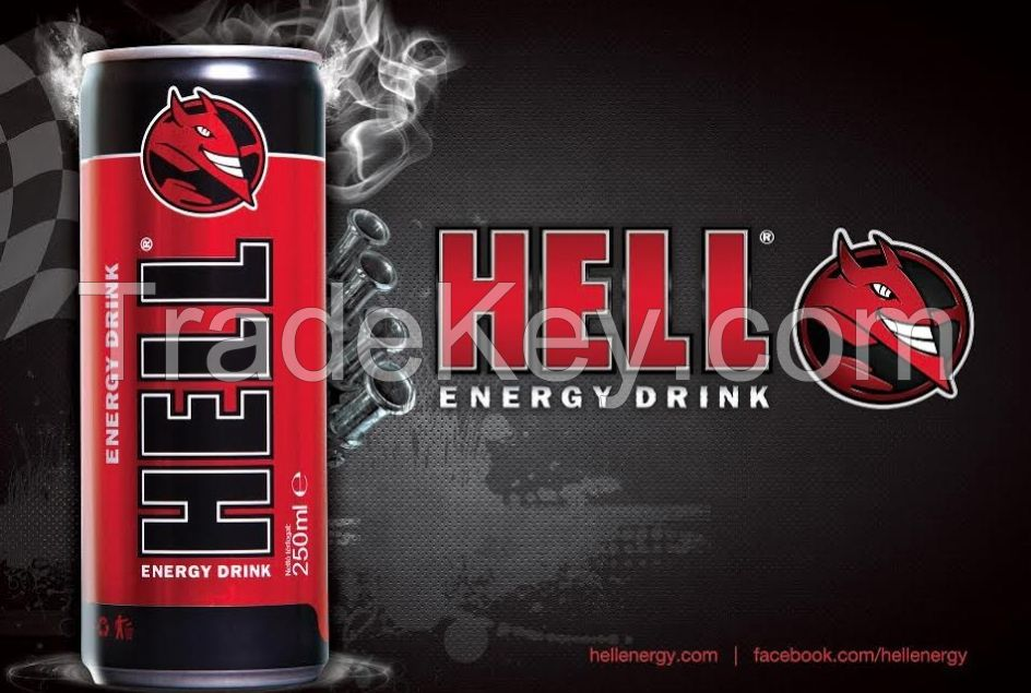 Hell energy drink available for sale