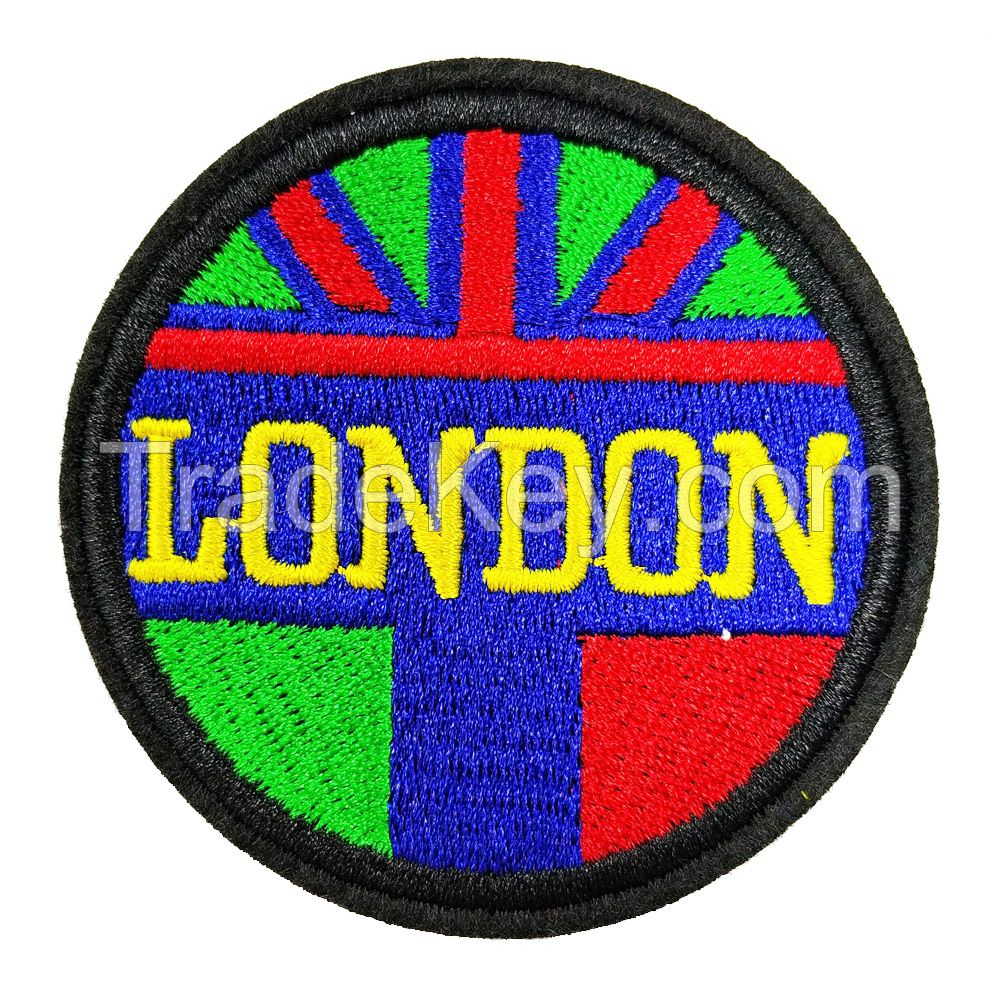 ODM Designs Promotion Gift Motorcycle Patches / Embroidery Badges / Sew On Patches
