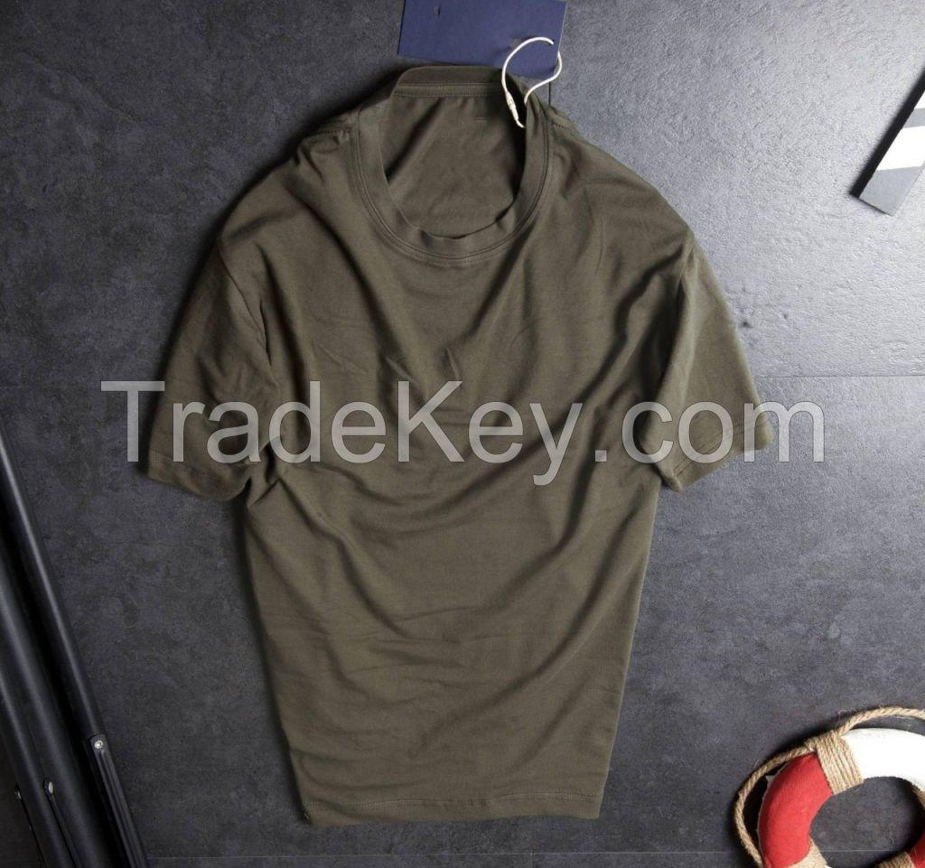 cotton basic t shirt