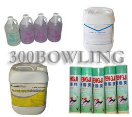 Bowling Lane Oil, Bowling Lane Cleaner, Bowling Alley Paper, Mend Paste