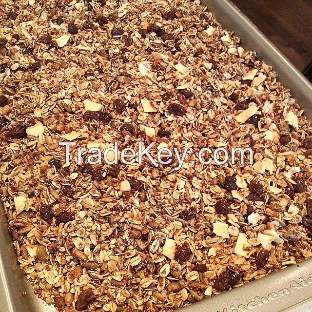 White Teff grains