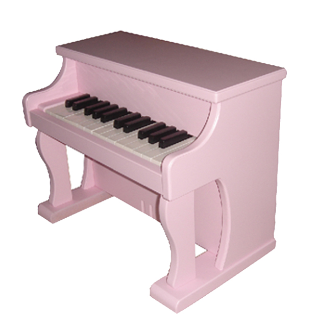 Wooden toy piano