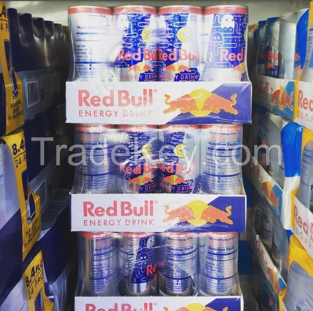 100% 250ml red bull energy drink original