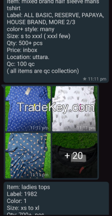 Tshirts (All Types Men and Women )