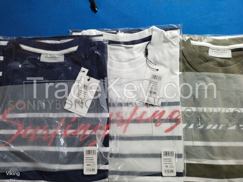 Mans printed tshirt stock