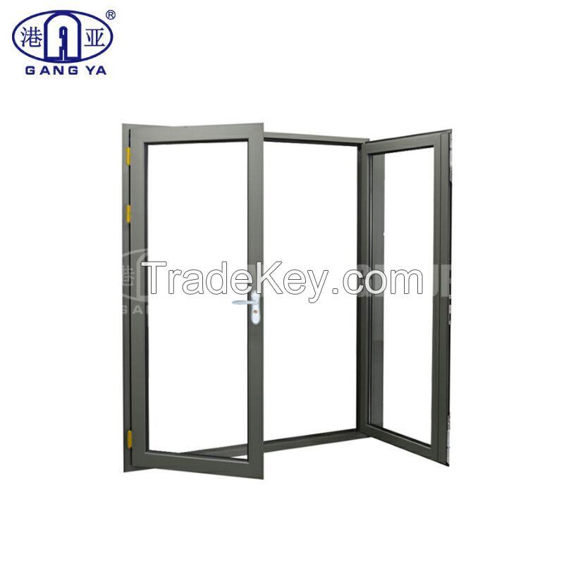 Wind Proof Rain Proof Security Door Laminated Glass French Casement Door
