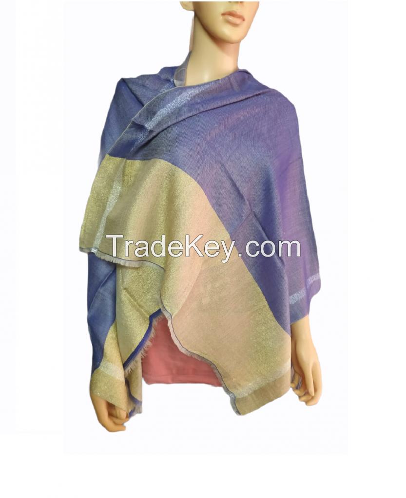 Indus Autumn Cashmere wool Shawl
