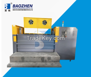 Environmental protection dry high-speed grinding and polishing machine