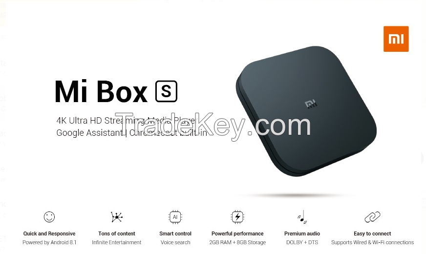 Xiaomi TV BOX S EU